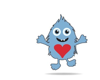 UNC Love Monster