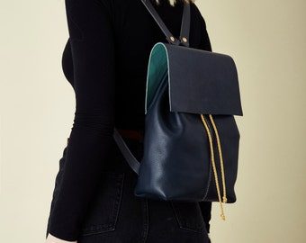 Nomad Navy Backpack - MADE TO ORDER