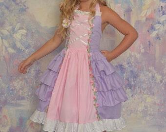 Size 6/7 Rapunzel Princess Dress IN STOCK