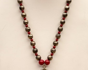 This is a Dynamite Antique Necklace