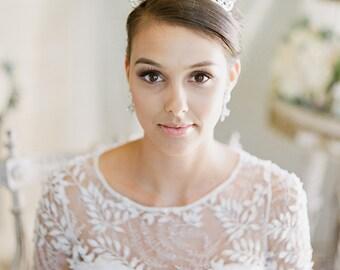Bridal Tiara Crystal Tiara - CHERISH, Swarovski Bridal Tiara, Crystal Wedding Crown, Rhinestone Tiara, Wedding Tiara, Diamante Crown