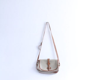 Minimal Classic Leather Cross Body Bag