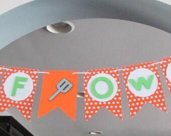 Master Chef Junior Inspired Birthday Banner
