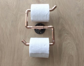 Industrial Bathroom Accessories Set PC Copper Pipe Towel - Bathroom towel bars and toilet paper holders for bathroom decor ideas