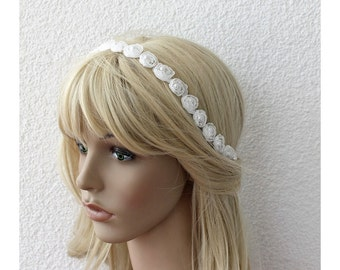 Wedding Headband, Bridal Headband, Bridal Hair Accessory, Wedding Hair Accessory