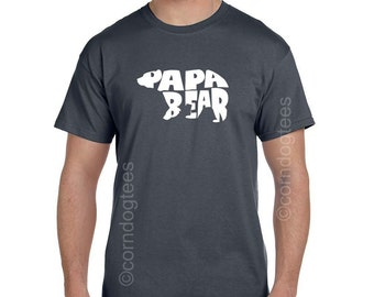Dad to Be Gift New Dad Gift Papa Shirt Father to Be Dad to Be Shirt Daddy to Be Papa TShirts Daddy Shirt First time Dad Gift Papa Bear Shirt
