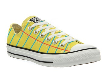 Converse Legal Pad Graphic© Shoes for men AND women! The Notebook Paper Shoe Re-done. Perfect for heading back to school!