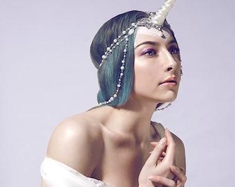 Made to order Unicorn jewelry headpiece