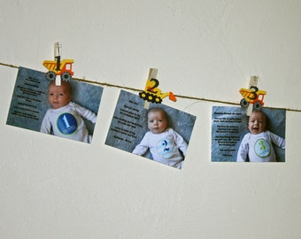 Construction First Birthday, Construction Party, Truck Party, Construction Monthly Photo Banner, N-12 Pictures
