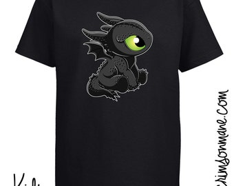 Toothless dragon  Etsy