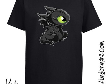 Baby Toothless Dragon T-Shirt