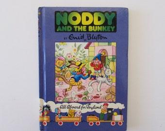 Vintage (1980s) children's book, 'Noddy and the Bunkey'  Enid Blyton