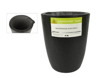 Salamander Super A10 Melting Crucible for Casting and Jewelry Making - CRU-0097