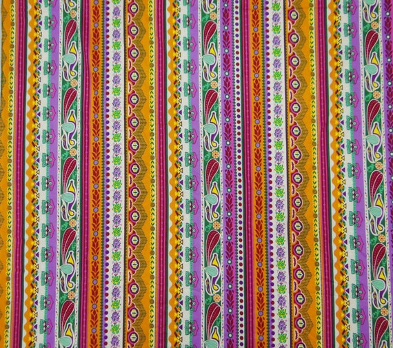 Stripe print fabric designer fabric for sewing decorative for Designer fabric suppliers