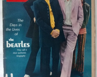 BEATLES 1968 LIFE Magazine Article by Hunter Davies with Fabulous Pictures Excellent Condition