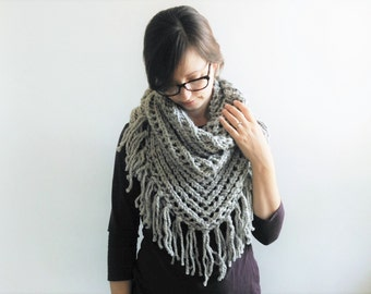Lace Triangle Scarf