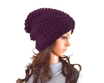 Chunky Slouchy Hat Beanie Toque | The Samara