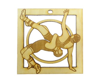 Wrestling Ornament - Wrestling Team Gift - Wrestling Ornaments - Wrestling Gifts - Wrestling Gift - Personalized Free