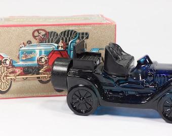 Vintage Avon Stanley Steamer Men's After Shave Collectible Vehicle Original Box