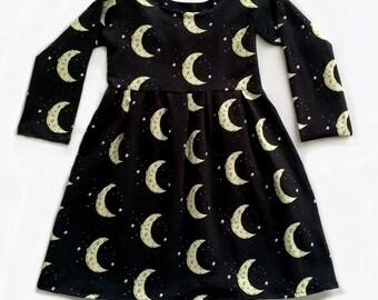 Moon and stars dress