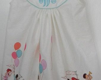 """Girl dress """"Children on Parade"""" Monogram Sizes  3-24 Month"""