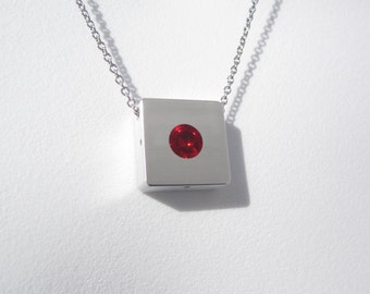 Contemporary Necklace – Sphere Pendant – Contemporary Jewelry