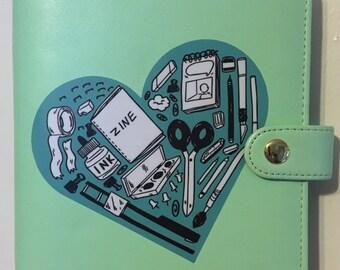 Love Zines Sticker