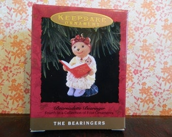 "Hallmark Keepsake Bearingers Ornament ""Bearnadette Bearinger"""