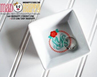 Small Ring Dish Personalized / Monogram