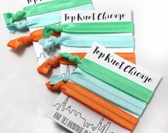 Hair Tie Bracelet - Beach Accessories - Hair Accessories - Summertime - Elastic Hair Tie - Yoga Hair Ties - Ribbon Hair Ties - Hair Elastics