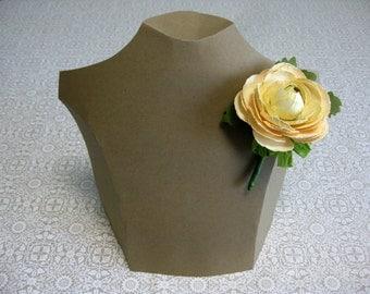 Handmade Paper Ranunculus Corsage