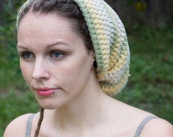 cotton striped dread hat