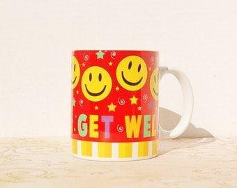 Get Well Mug Smiley Happy Face