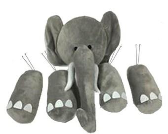 5 Pc Elephant Decor Wreath Kit/Wreath Kit/College Football/Alabama Football/MD021