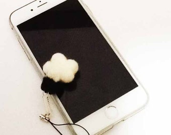 cat hand Mobile Cleaner Strap