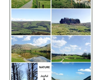 Nature, English Countryside Photography Note Cards with Envelopes, Handmade Assorted Set of 8