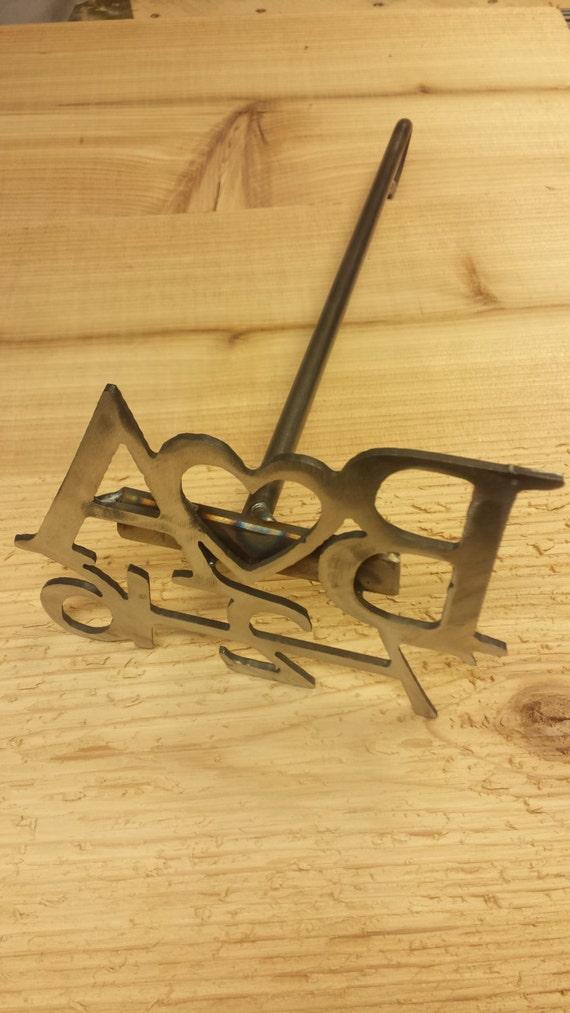 nice heavy duty metal letter branding iron with slab of wood With metal letters for branding wood