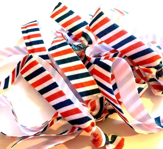 Nautical Stripe Hair Tie