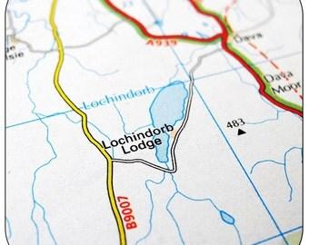 Lochindorb Map Coasters