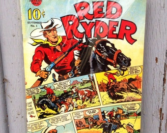 Vintage Red Ryder Comic Never Opened