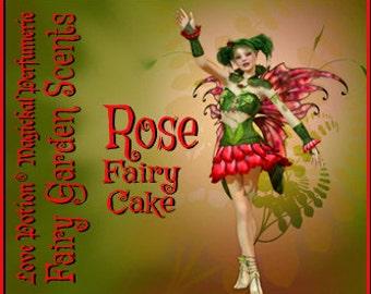 Fairy Cake: Rose - Sweet & Youthful Layerable Perfume - Love Potion Magickal Perfumerie