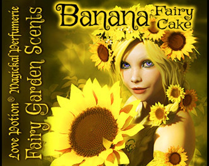 Fairy Cake: Banana - Layerable Perfume - Love Potion Magickal Perfumerie
