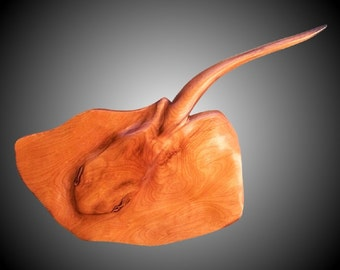 Sting Ray Version 1 Wall Sculpture