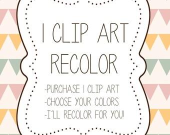 Custom Clip Art Recolor