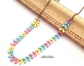 Necklace Ayanna - Pastels