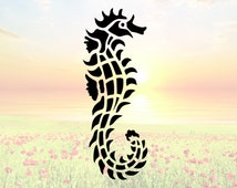 Sea Horse Stencil or Wall Decal DIY Project