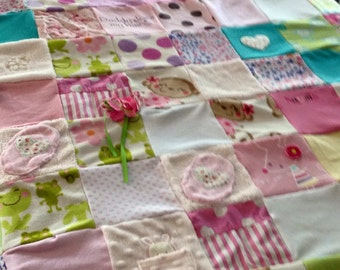 "Memory quilt (40""x65"" throw size)"