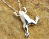 Xenopus Pendant - Science Jewelry - African Clawed Frog - Biology Jewelry - Biology Gift for Her - PhD Gift - Frog for Biologist - Nerd Gift