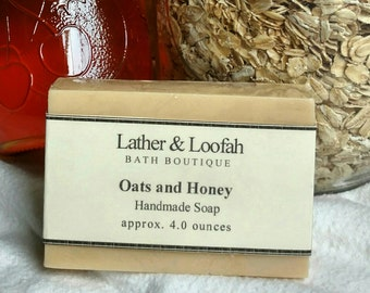 Oats and Honey-Shea and Mango Butter Soap