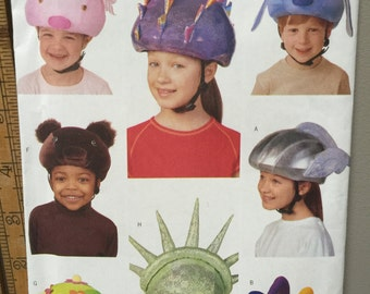 Butterick 6737 Bicycle Helmet Ski Snowboard Helmet Safety  Helmet Cover Pattern 2000 (Box A-4)